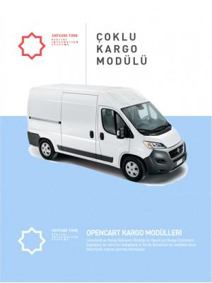 Opencart 3.X Çoklu Kargo